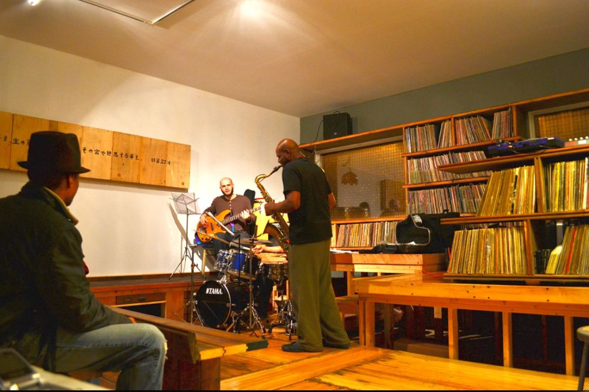 Dorchester Projects Jam Session Inside the first rebuild