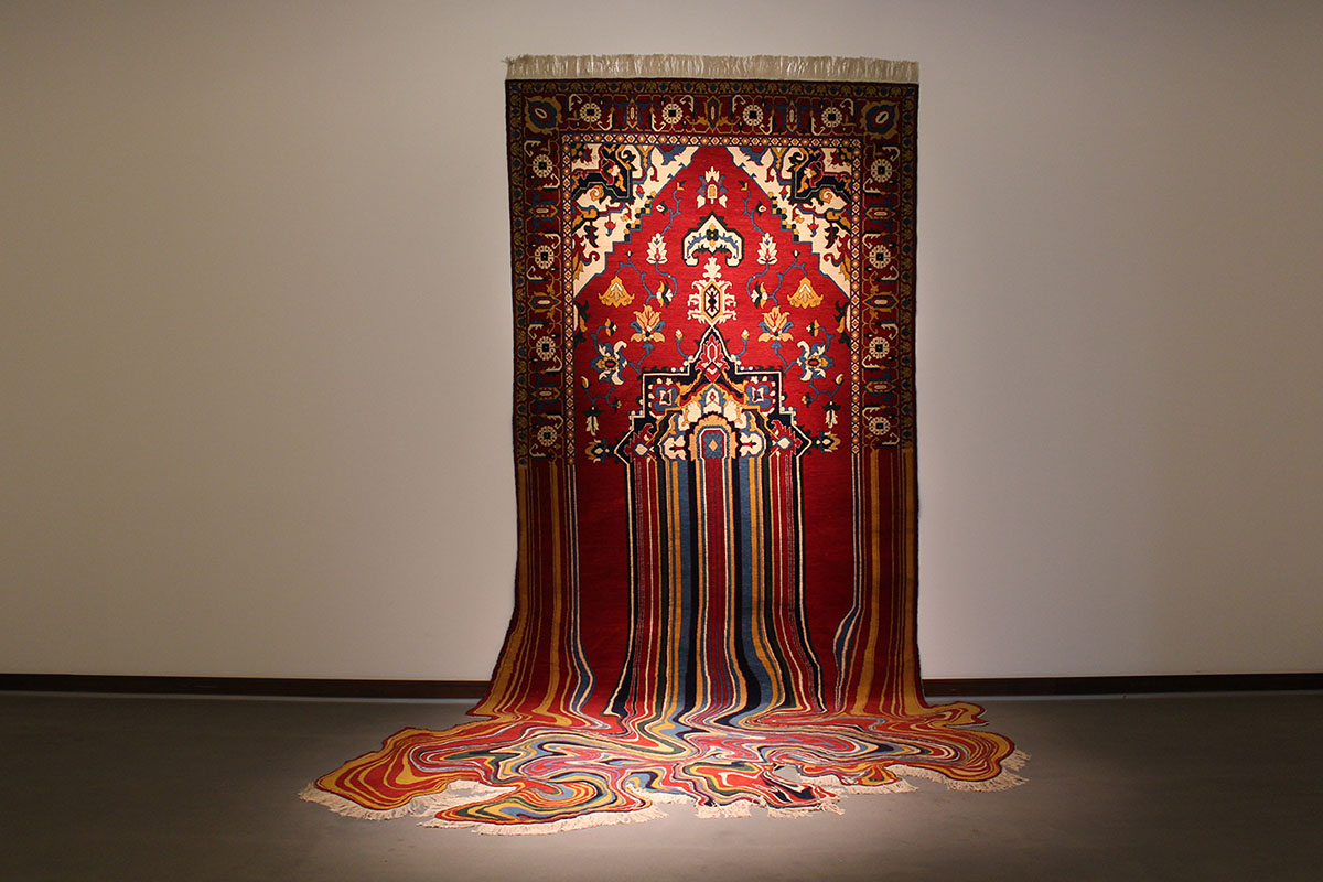 Faig Ahmed's modern interpretations of traditional carpet design -08