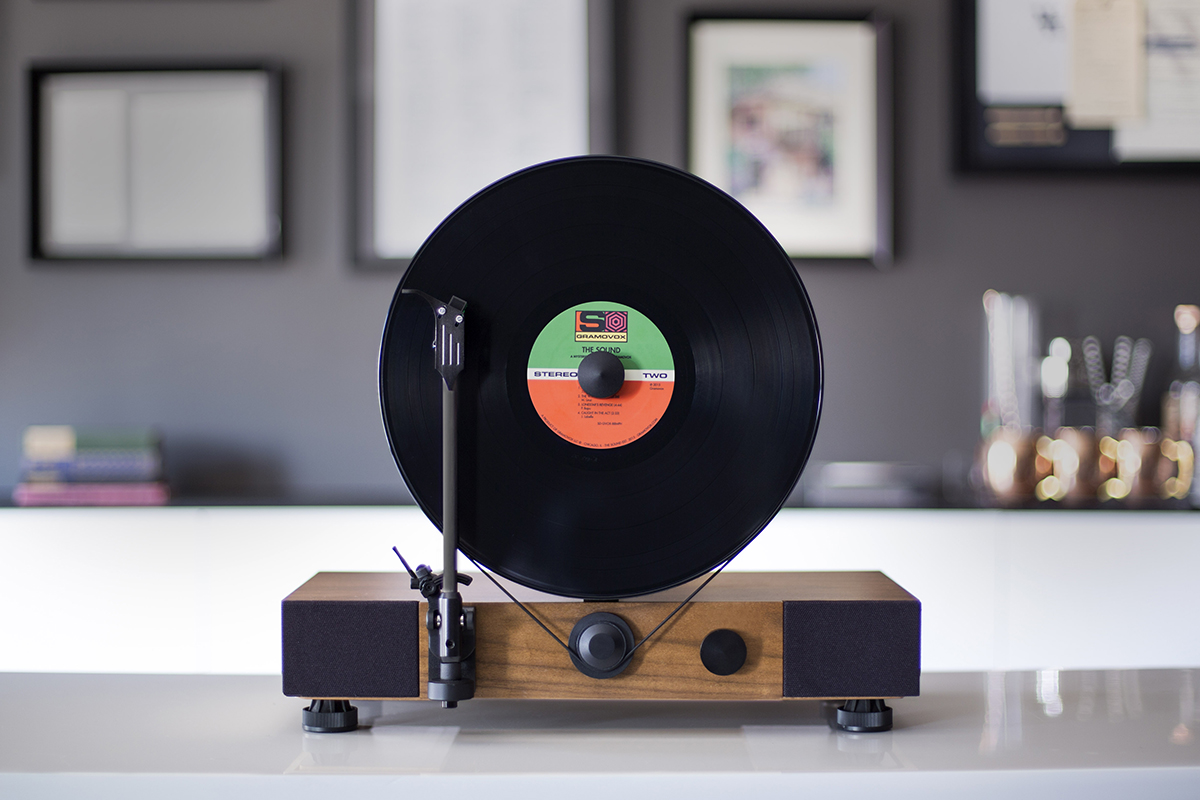 Floating record player by Gramovox - 04