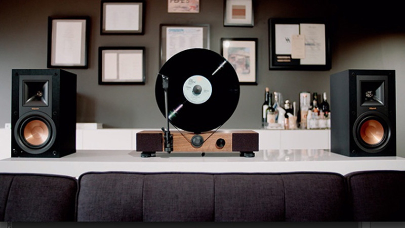 Additional gear for record player