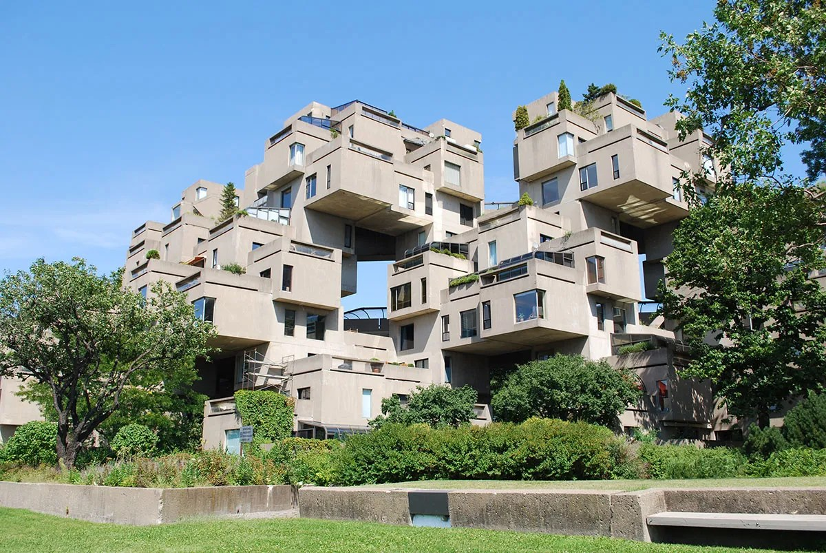 Habitat 67 - Brutalist Architecture in Montreal by Moshe Safdie - 02