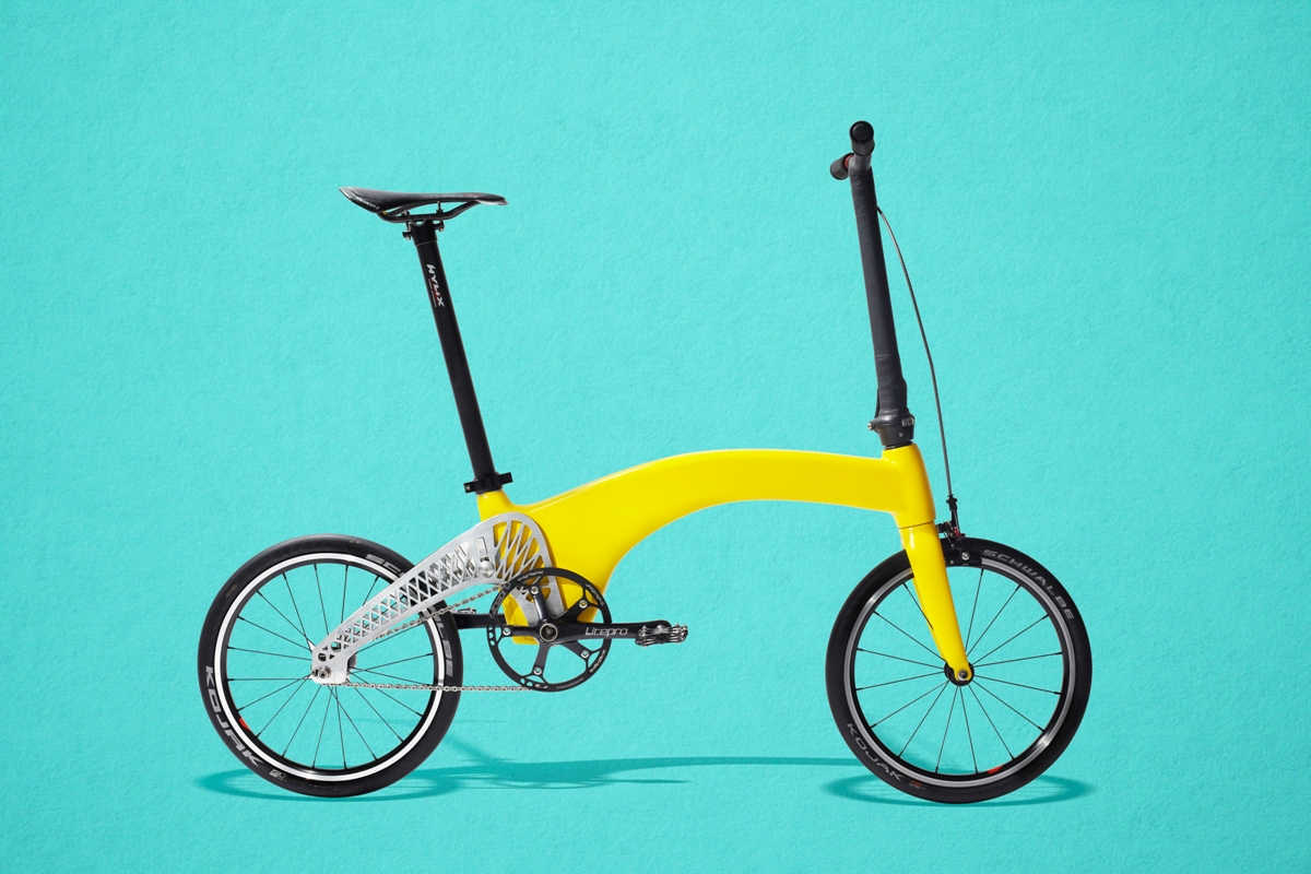 Hummingbird Bike - World's lightest urban bike - 03
