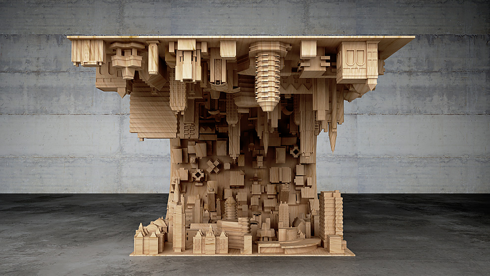 Inception - 3D Printed coffee table by Stelios Mousarris - 02