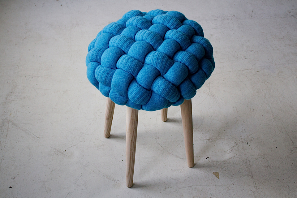 Knitted Stools by Claire-Anne O-Brien - 04