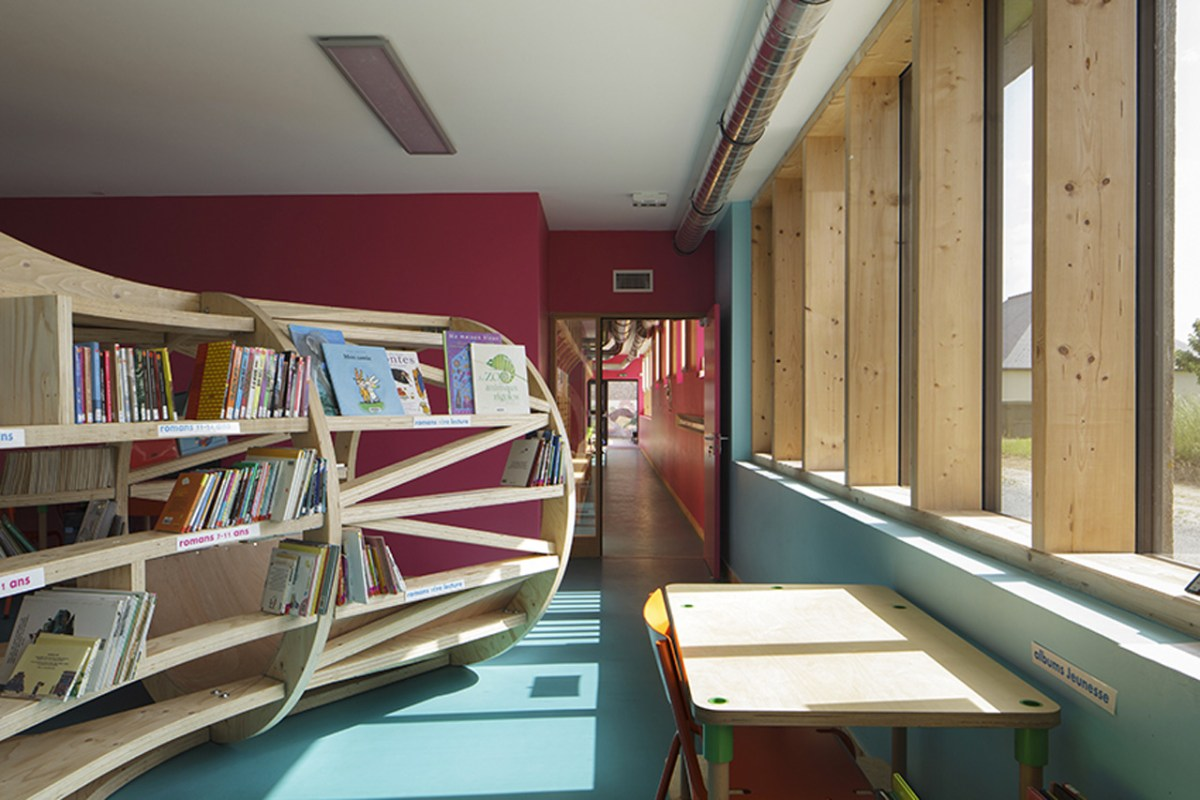 Le Ble en Herbe Scool in France by Designer Matali Crasset - 04