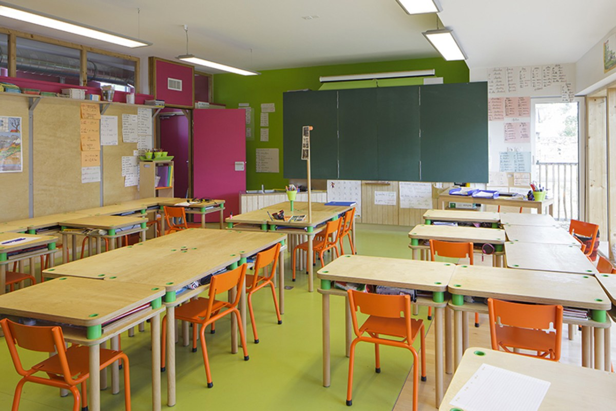 Le Ble en Herbe Scool in France by Designer Matali Crasset - 08