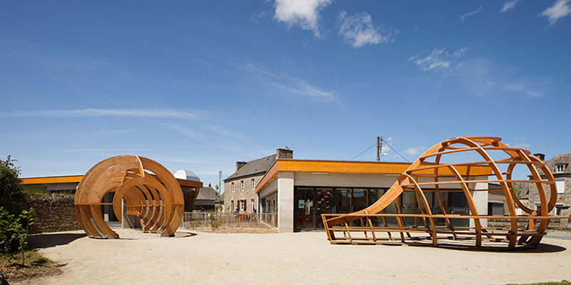 Le Ble en Herbe Scool in France by Designer Matali Crasset - 12