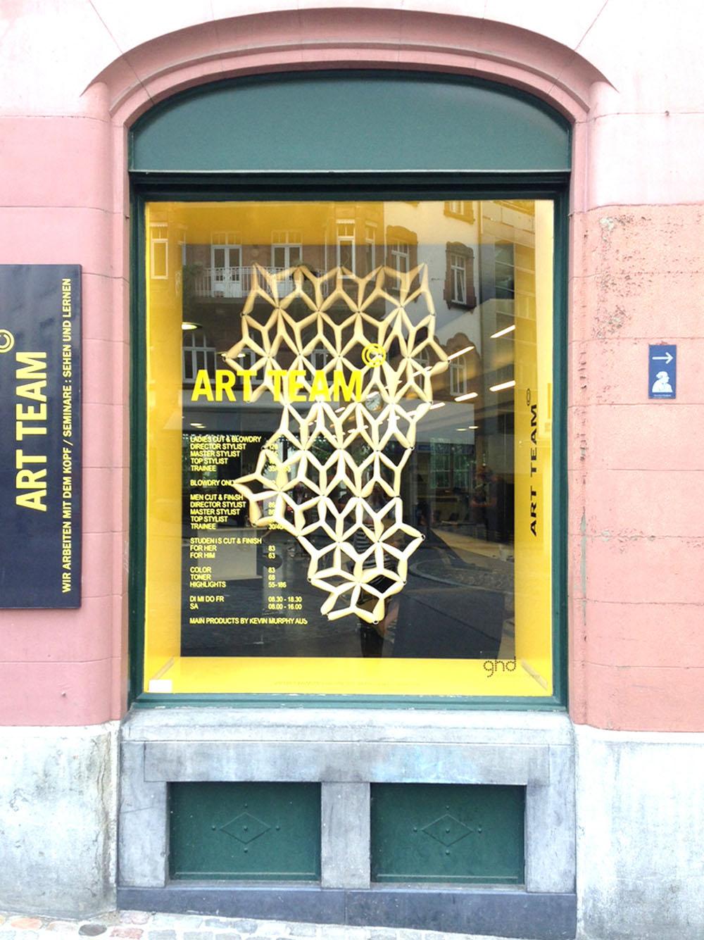 由Anna Spakowska设计的光幕和雕刻灯