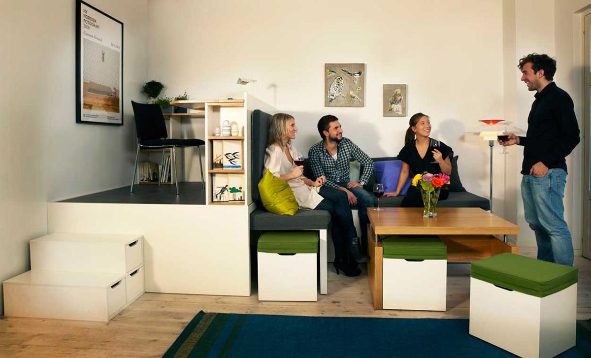 Modular furniture by Matroshka Furniture - 01