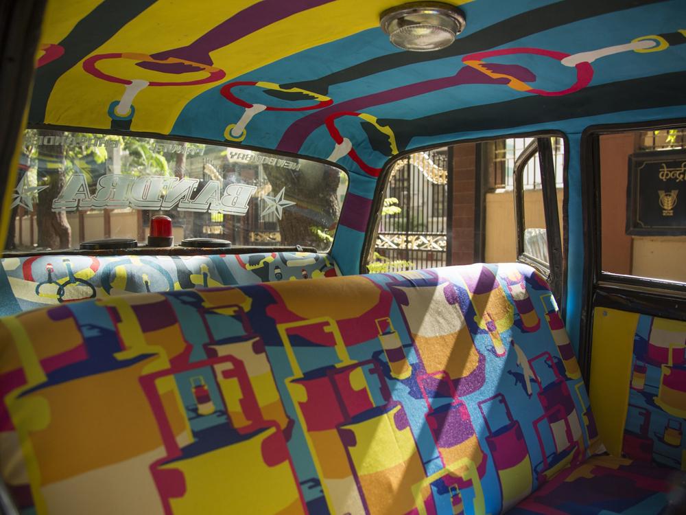 Mumbai Taxi Fabric Project - 05