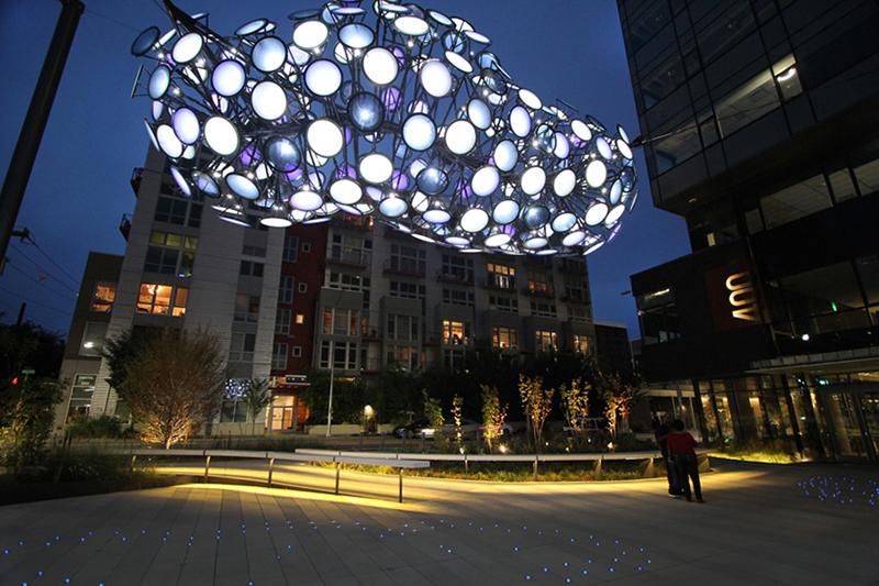 Nebulous - Light Installation by Dan Corson - 02