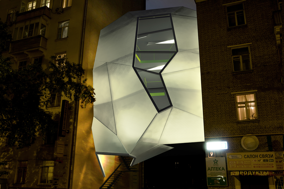 Parasite Office in Moscow by Za Bor Architects - 08