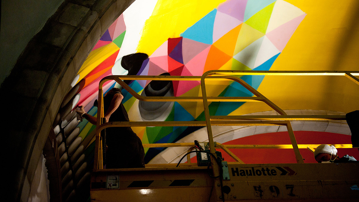 Skate Church in Spain receives a personal touch by artist Okuda San Miguel - 12