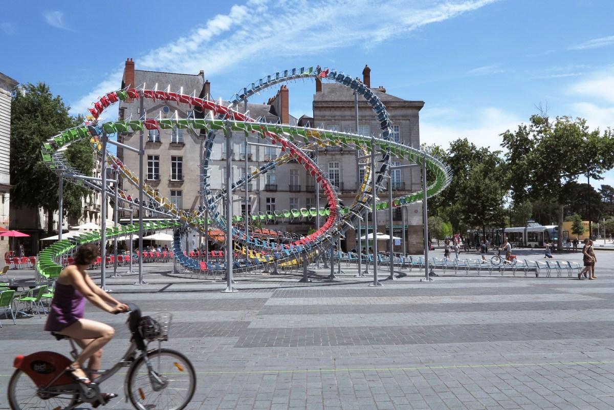 Stellar Aerial Sculpture by Baptiste Debombourg - 10