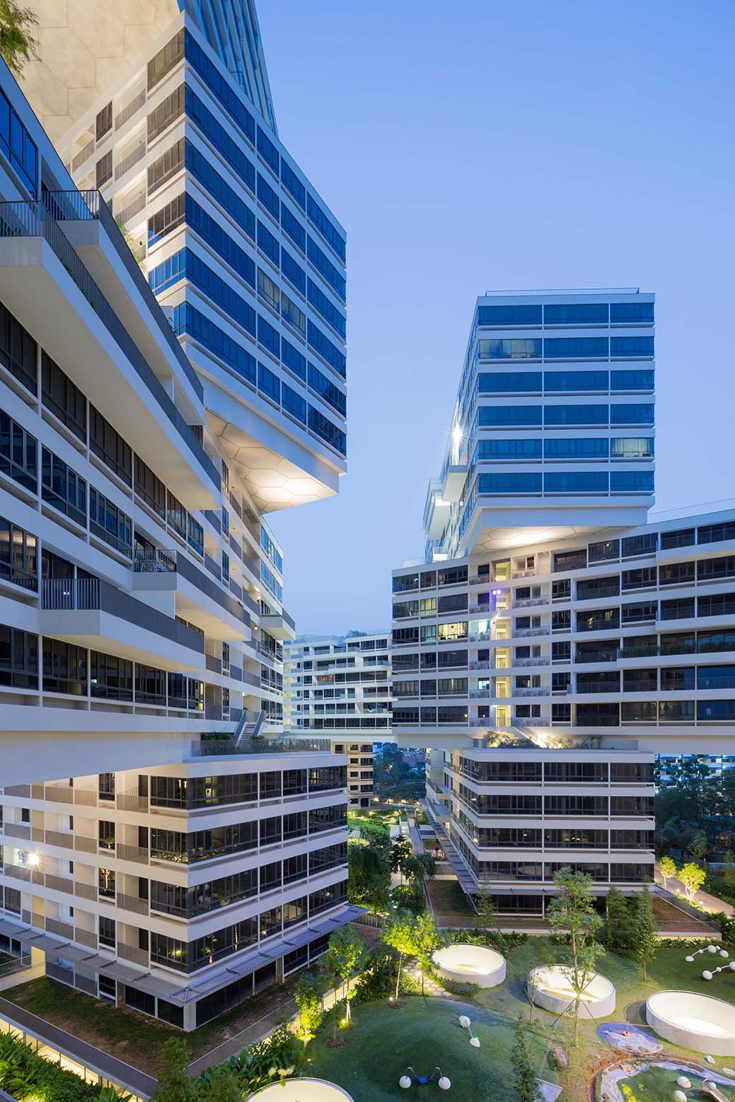 The Interlace in Singapore by OMA and Ole Scheeren - 02