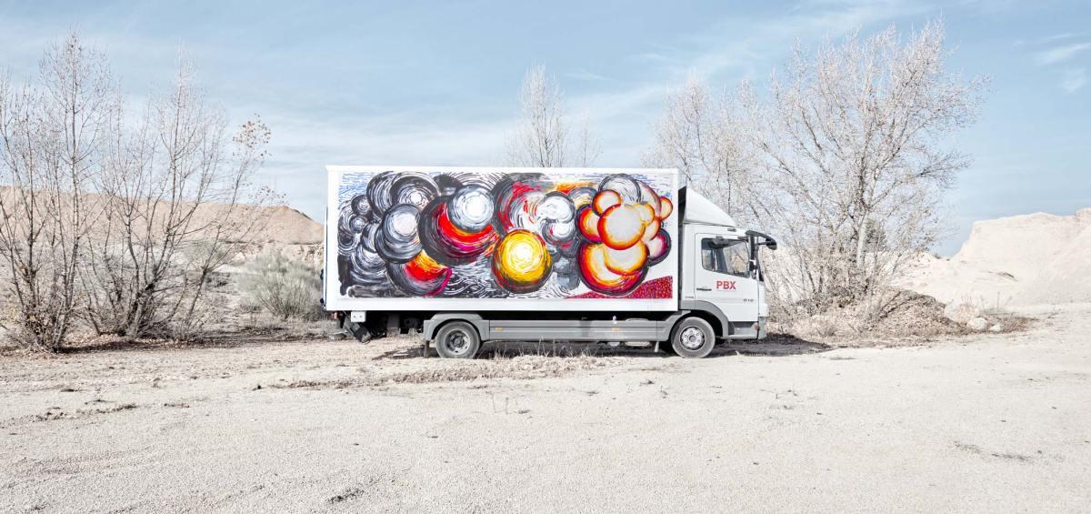 Truck art project - 08