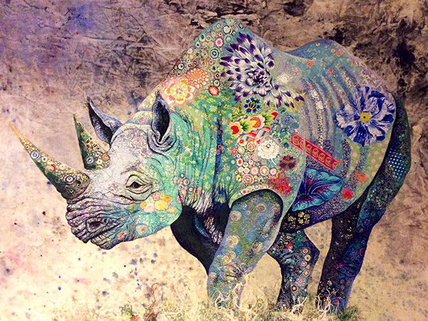 textile-collage-african-wildlife-sophie-standing-01