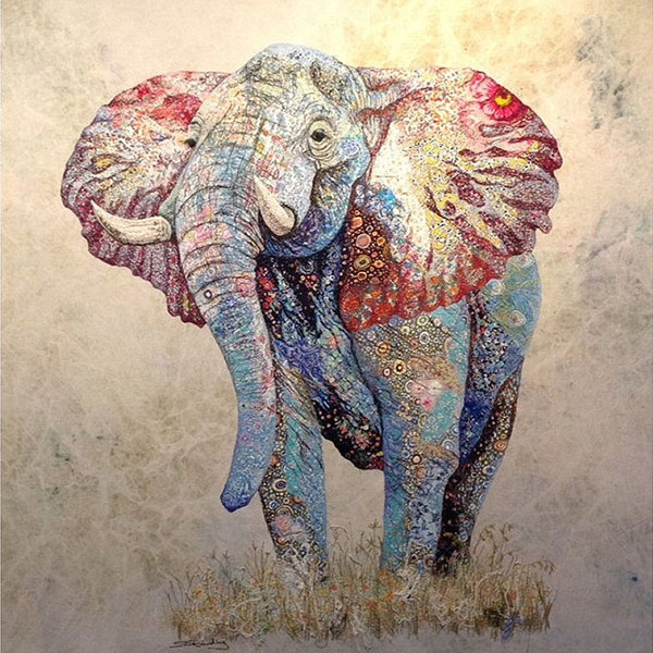 textile-collage-african-wildlife-sophie-standing-12