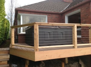 Custom Decking with the best materials