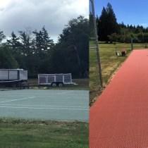 Beach Club Flex Tennis Courts