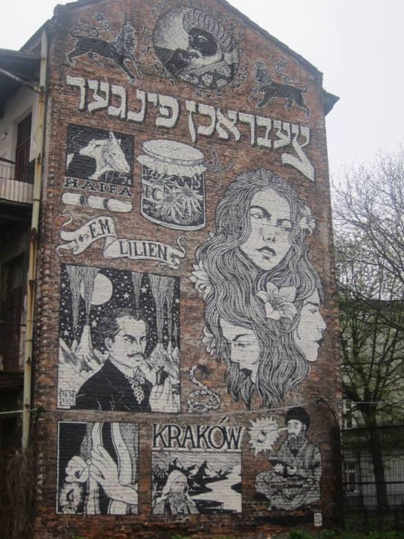 mural w krakowie