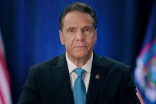 MILWAUKEE, WI - AUGUST 17: In this screenshot from the DNCC's livestream of the 2020 Democratic National Convention, New York Gov. Andrew Cuomo addresses the virtual convention on August 17, 2020. The convention, which was once expected to draw 50,000 people to Milwaukee, Wisconsin, is now taking place virtually due to the coronavirus pandemic. (Photo by Handout/DNCC via Getty Images)