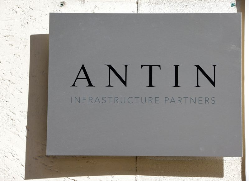 Logo of French investment firm Antin Infrastructure Partners in Paris
