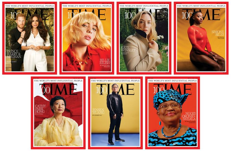 Time releases list of 100 Most Influential People in the World