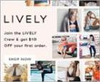 LIVELY Coupons & Promo Codes