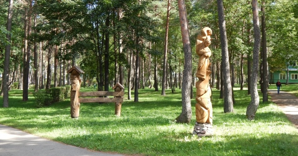Varėnos miesto parko laukia dideli pokyčiai