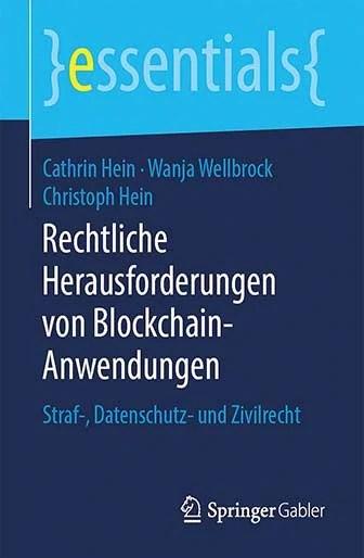 Rechtliche Herausforderungen Von Blockchainanwendungen