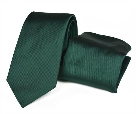 Μεταξωτο σετ γραβάτας Charm Green