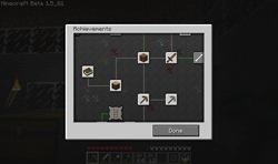 Minecraft achievement panel