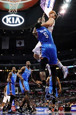 Blake Griffin over Kendrick Perkins