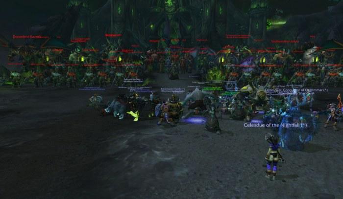Legion pre-launch event