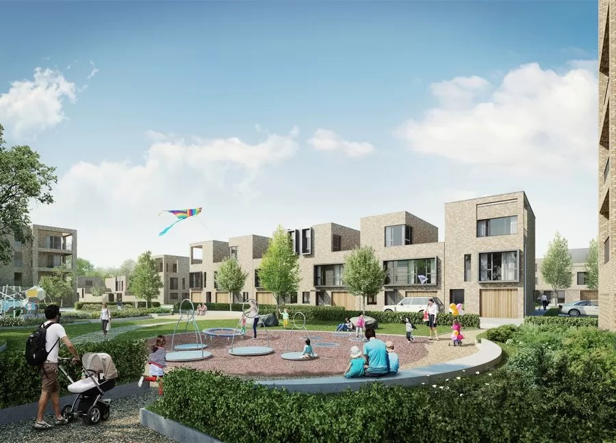 School Square Residential Development, Great Kneighton