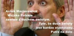 Macierewicz autor Bogusław Dżendżera
