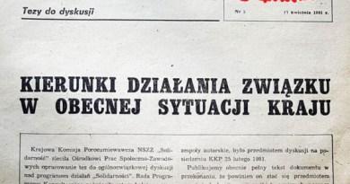 Tygodnik Solidarność z 17 kwietnia 1981 r