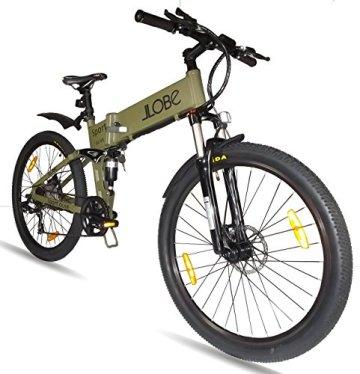 LLobe E-Bike faltbares Mountainbike