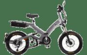 A2B Octave Urbanbike (20 Zoll, Y-frame, 475 Wh, Silber)