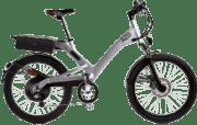 A2B Shima 20´´ MATT SILVER Urbanbike (24 Zoll, 50 cm, Y-frame, 475 Wh, Silber)