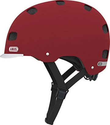 Abus Erwachsene Fahrradhelm Scraper v.2, marsala red, 58-63 cm, 12753-3 -