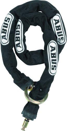 Abus Fahrradrahmenschloss 4850 Chain 6KS100 loop, schwarz, 100 cm -