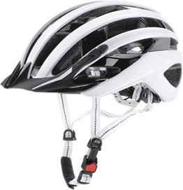 Alpina Radhelm e-Helm Deluxe, White/Black Reflective, 57-61, 9690310 -