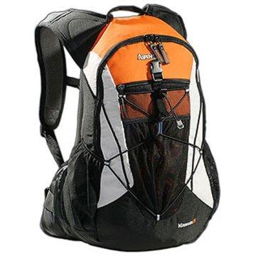 AspenSport Unisex Rucksack Minnesota, schwarz/orange, 53 x 35 x 20 cm, 35 liters, AB05X03 -