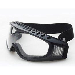 Butterme UV400 Schnee Ski Radfahren Fahrrad Motorrad Brille Sicherheit Schutz Glas Winddicht Anti-Beschlag Anti-Glare Linse mit elastischem Stirnband Transparent -