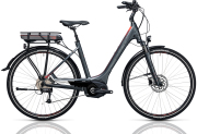 Cube Touring Hybrid 400 grey´n´flashred 2017 Easy Entry 46 cm