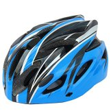 E-TOP Fahrradhelm Schutzhelm Fahrrad Helmet Bike Bicycle Helmet Mountain Bike MTB Rennrad Fahrrad Helm, 11 Farbens(Blau) -