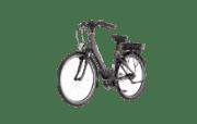 Fischer ECU 1604 Citybike (28 Zoll, 46 cm, Wave, 557 Wh, Anthrazit)