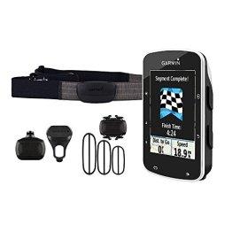 Garmin Edge 520 GPS-Radcomputer inkl. Herzfrequenz-Brustgurt, Trittfrequenz- und Geschwindigkeitssensor - Performance-/Trainingsanalyse, Smart Notifications -